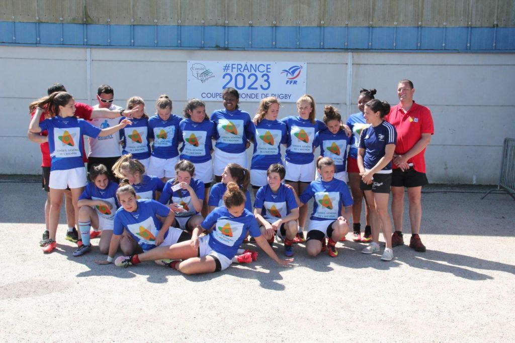 Équipe filles de l'Aveyron