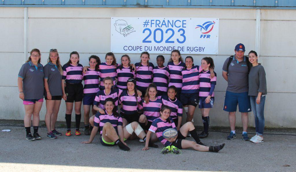 Équipe filles du Tarn