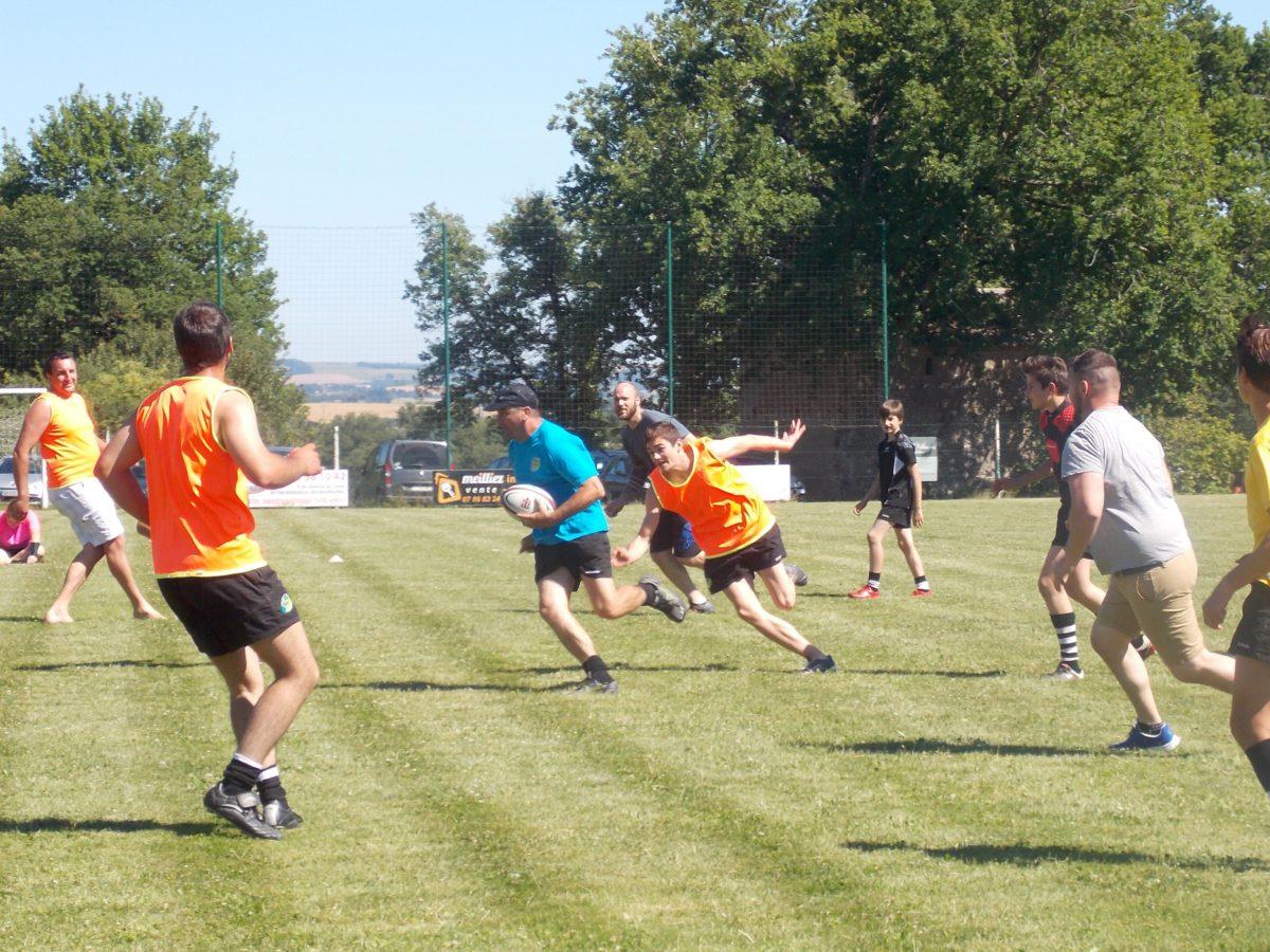 Rugby loisir à V : l'exemple de Ségala Ovale