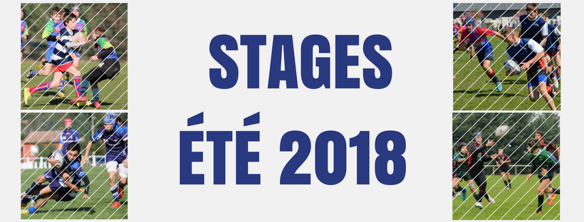 Stages été 2018 - inscriptions