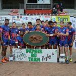 Vainqueur Cup  - Sud seven's Garonne