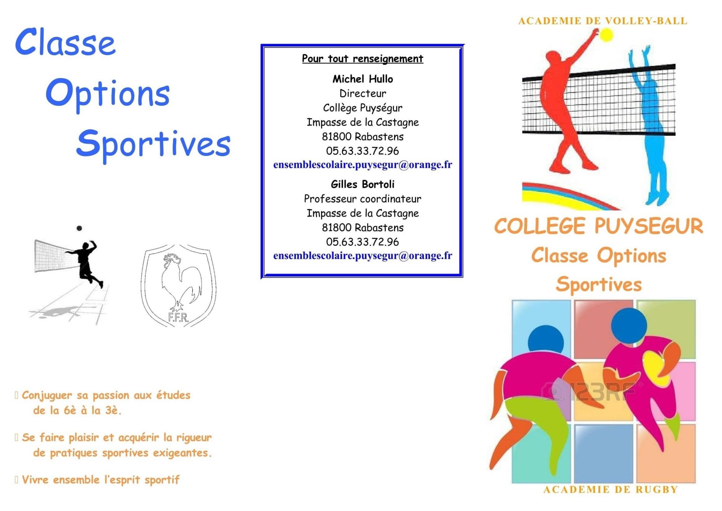 Rabastens Option Rugby Au College Puysegur Comite Du Tarn De Rugby