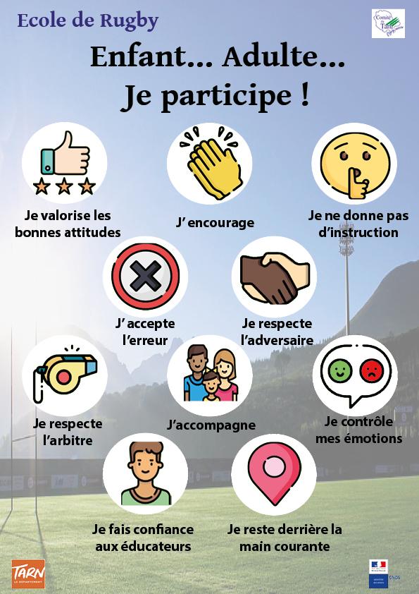 Affiche finale ecole de rugby conseils 2