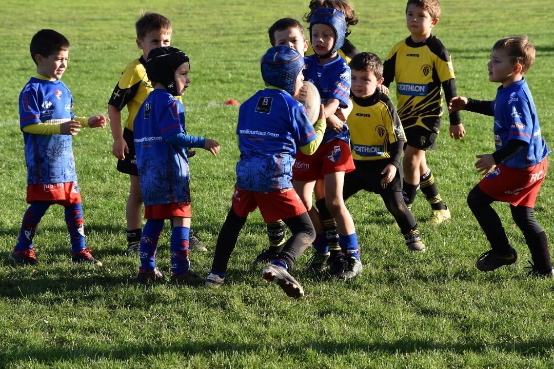 Ecoles de rugby : le « bonus jeunes » du Département