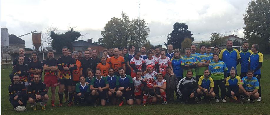 Rugby à V : Premier tournoi à Mirandol