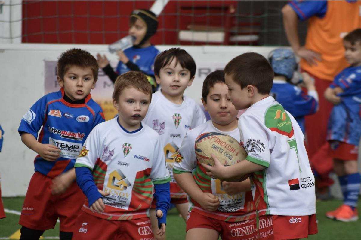 5 Ecoles de Rugby labellisées