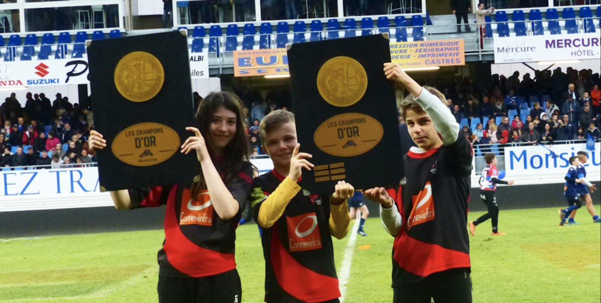 «Crampons d'or»: un challenge pour les écoles de rugby